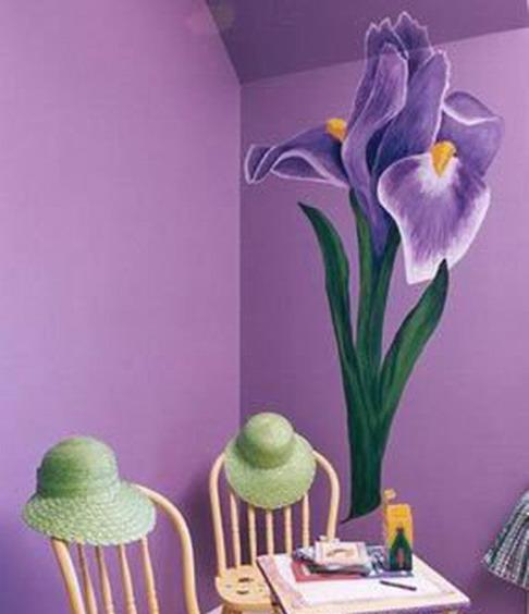 紫色浪漫情调 装修案例