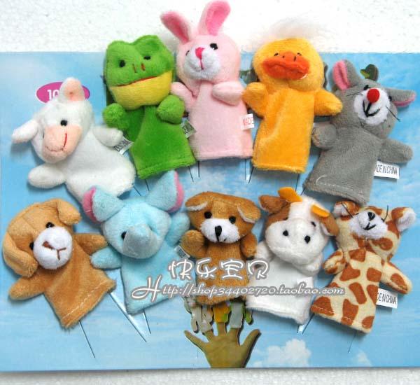 **鸭鸭,彩色鹦鹉,熊猫,牛牛,大青蛙,粉兔兔,大老虎(只有老虎没有手)和
