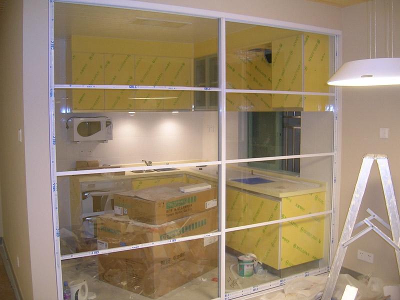 寻觅厨房铝合金玻璃推拉门,要美观大方, 装修采购