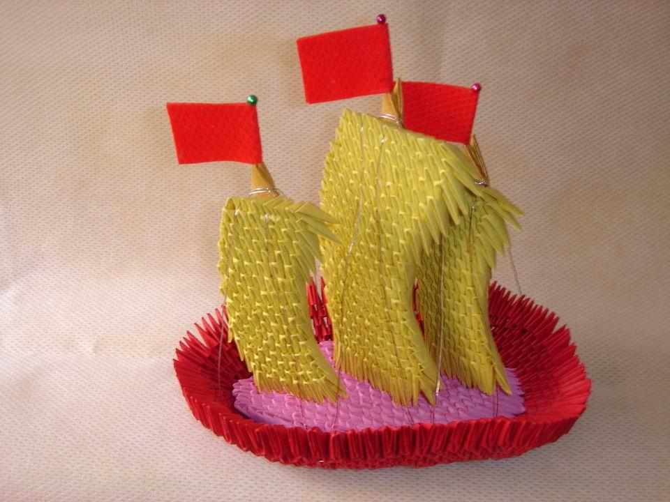 手工折纸鞋子的做法步骤
