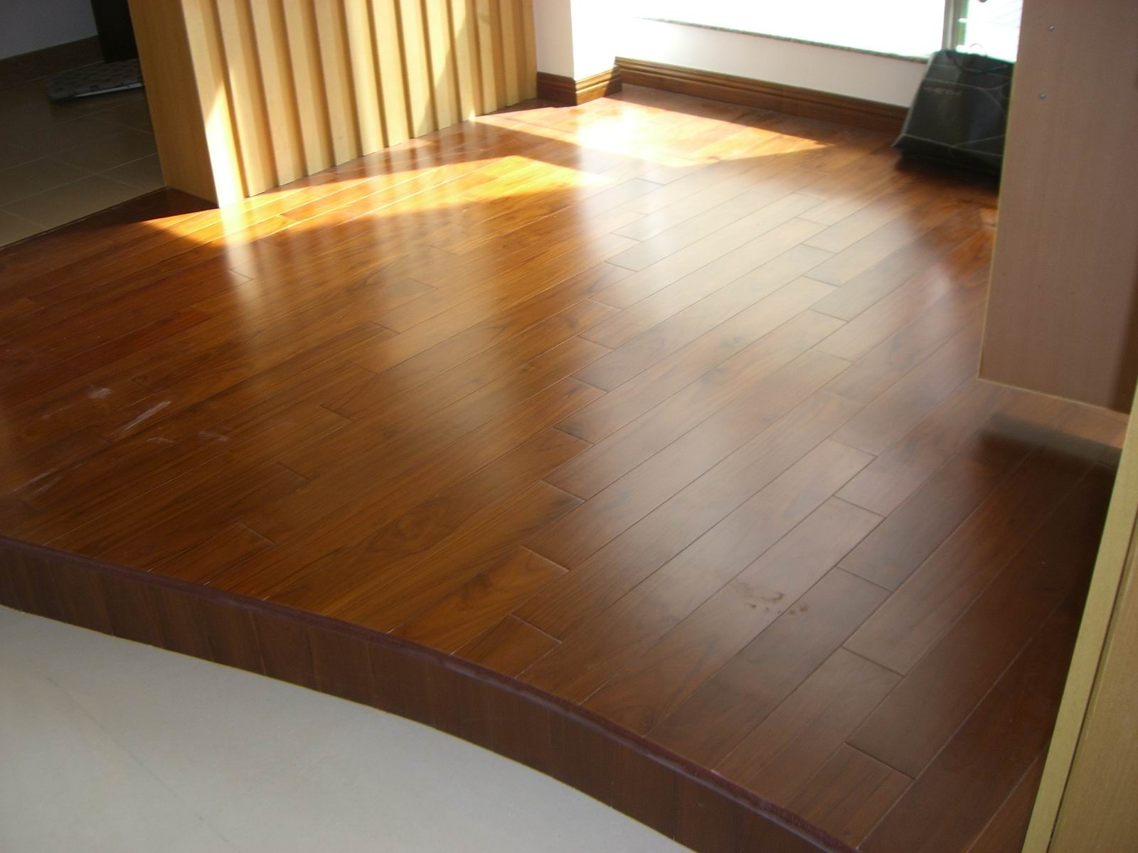 实木地板木种详解及铺装效果图