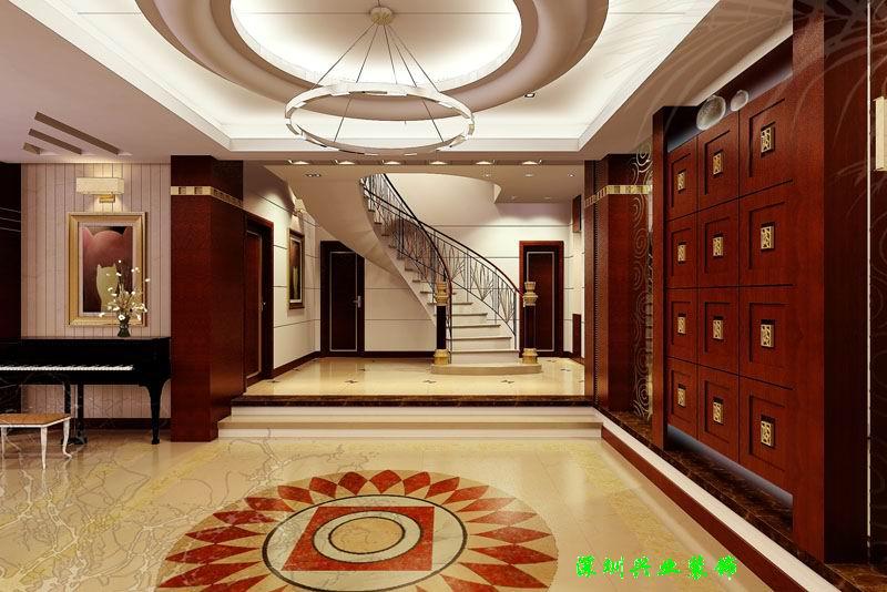 大型展厅设计排水管效果图