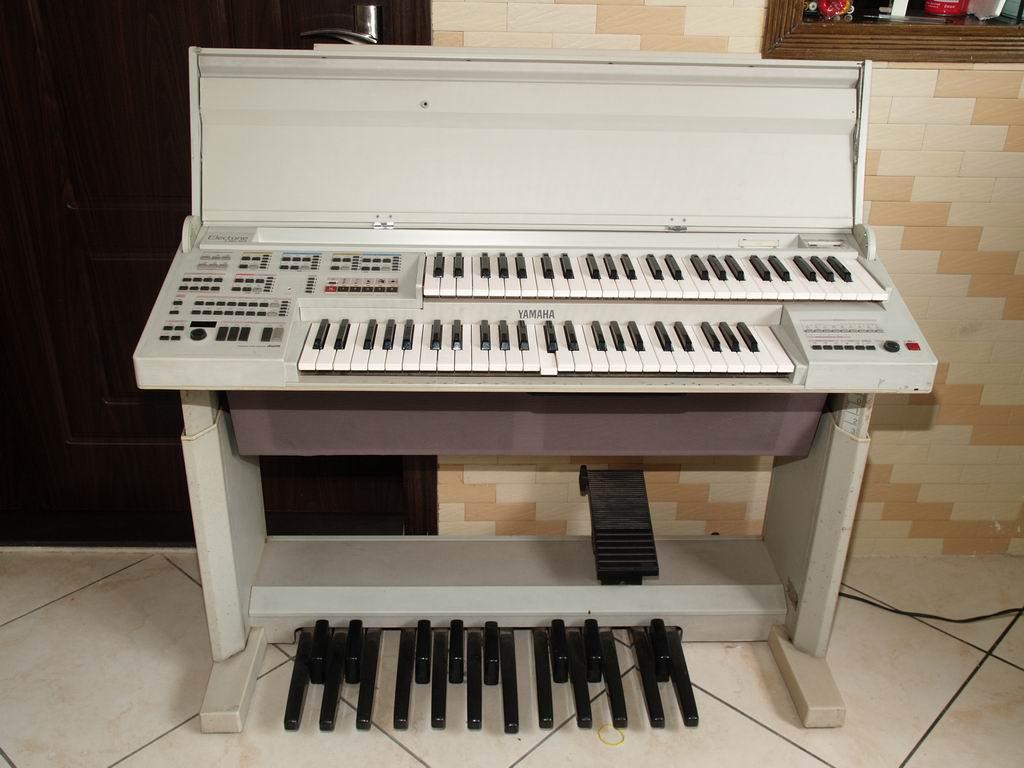 yamaha hk-10 双键盘电子合成器当电子琴卖
