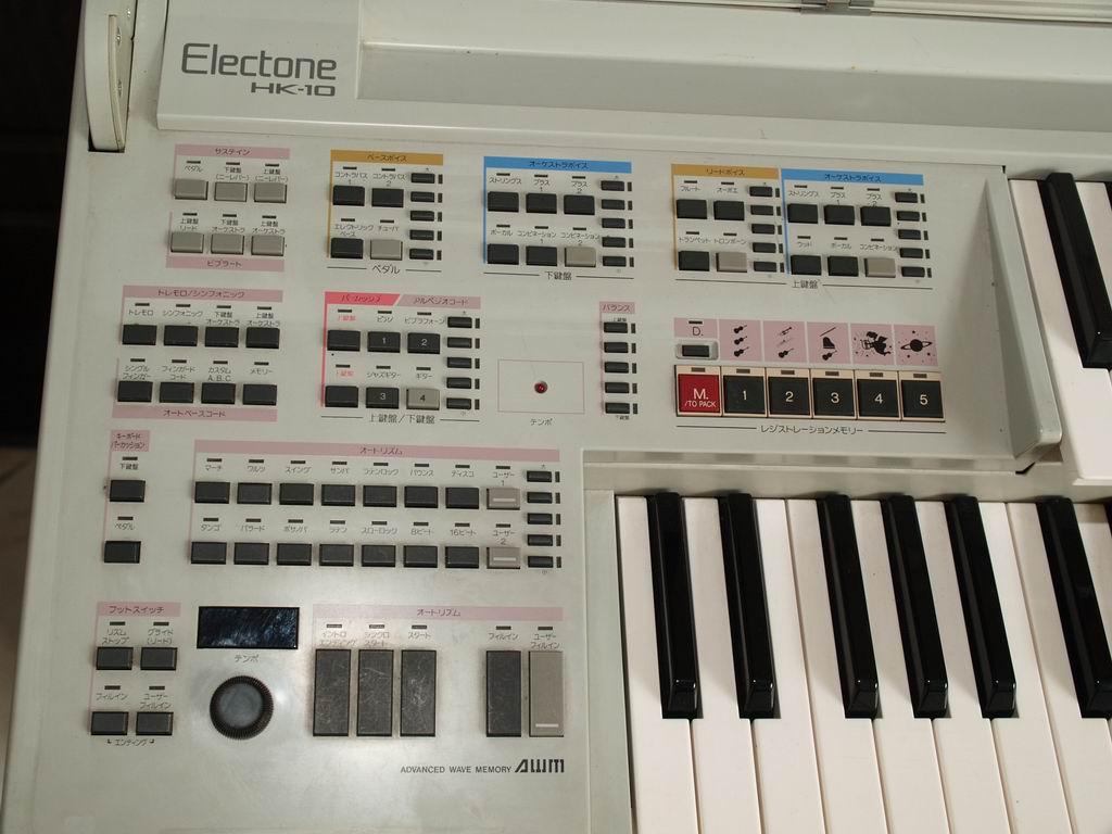 双键盘电子合成器当电子琴卖