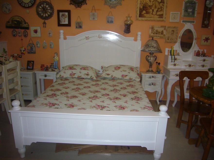 欧式大床手绘图