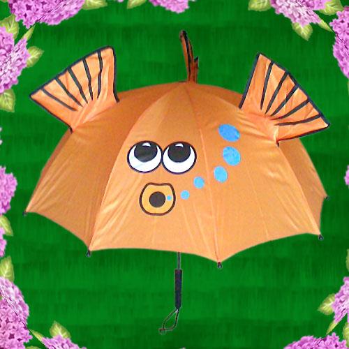 超级可爱卡通立体儿童伞