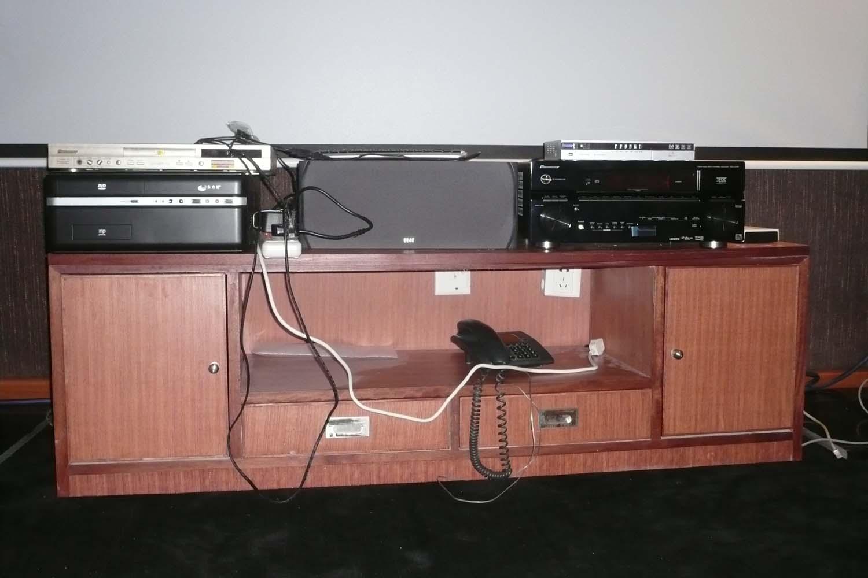 木工打造的全新电视机柜转让