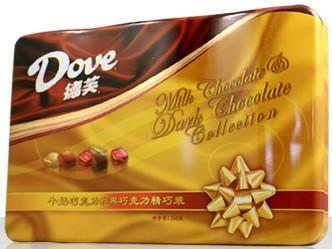 德芙巧克力礼盒装 食品特产