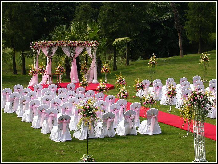 婚礼欧式拱门手绘图