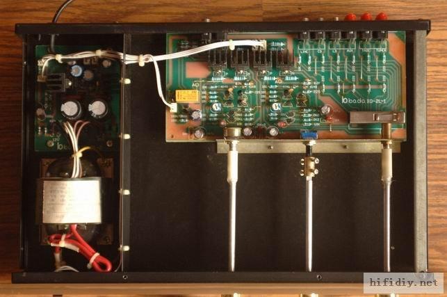 八达功放211前级电路图
