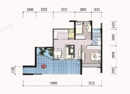 70多平米新房装修图案设计开始招标