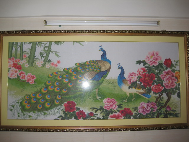 刺绣欧式画图片