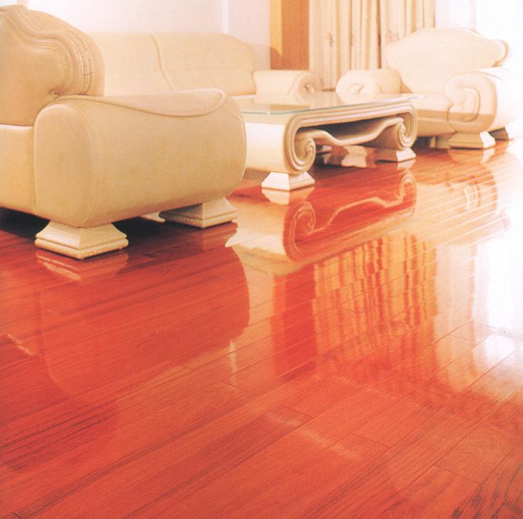 专业实木地板安装记录