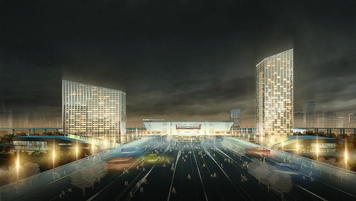 深圳北站图片