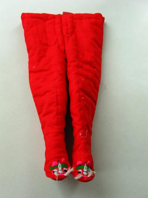 棉花手工制作的宝宝棉衣棉裤棉马甲 母婴用品