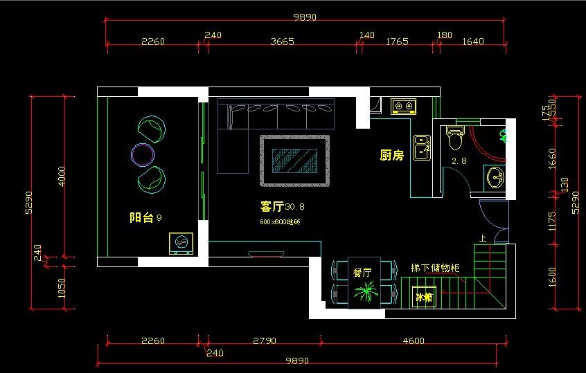 请大家帮忙看下小两房的复式设计图,哪一 建筑和户型 高清图片