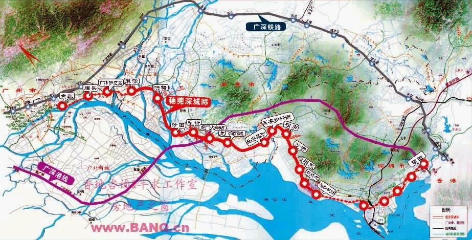 清远维港半岛地图