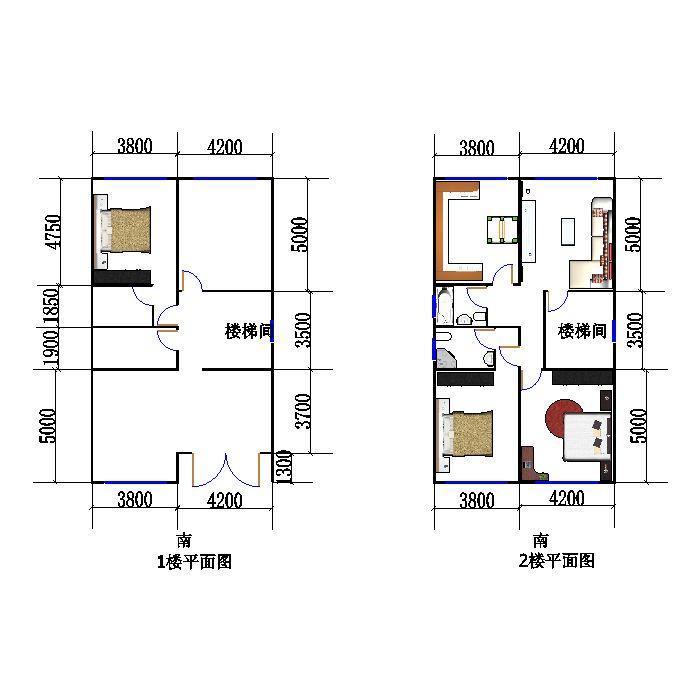 大家帮忙看看,自己设计的,准备在老家的自建房