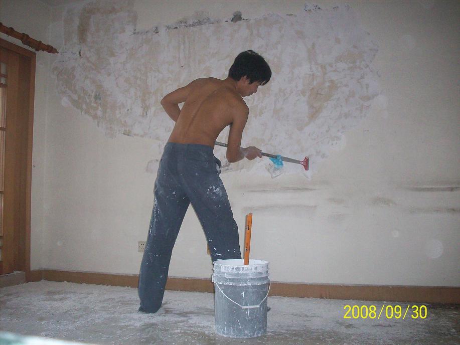 请报价, 110多平米房子刷墙 装修招标