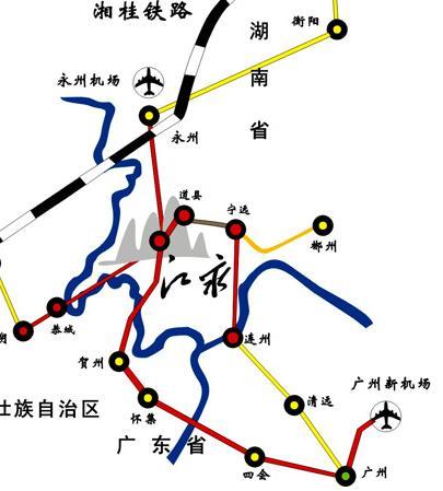 永州飞机场航线