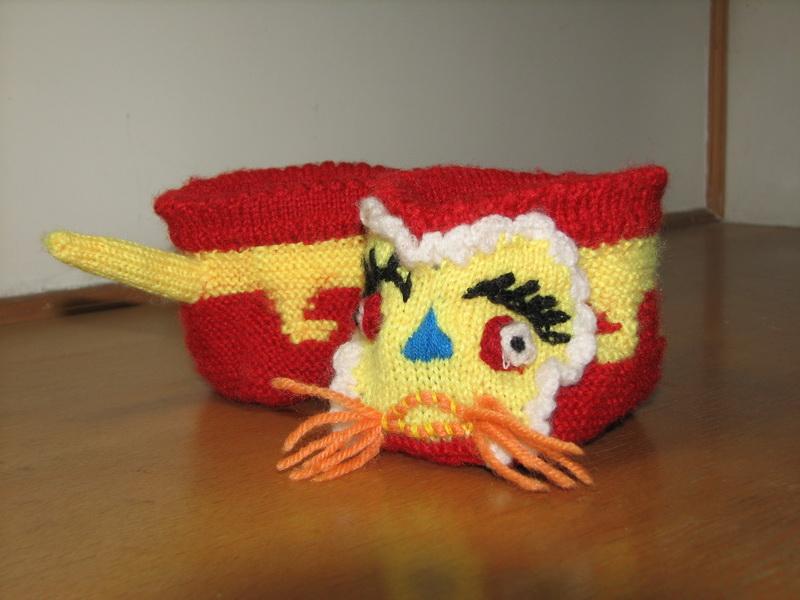 婴儿虎头鞋的编织图解