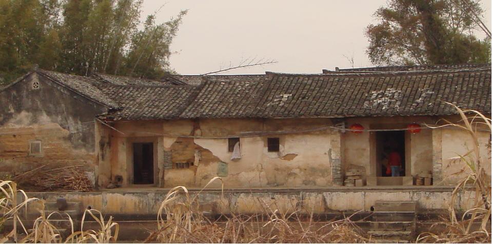 童年的农村老屋
