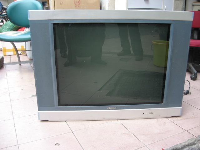 25英寸纯平海信彩色电视机