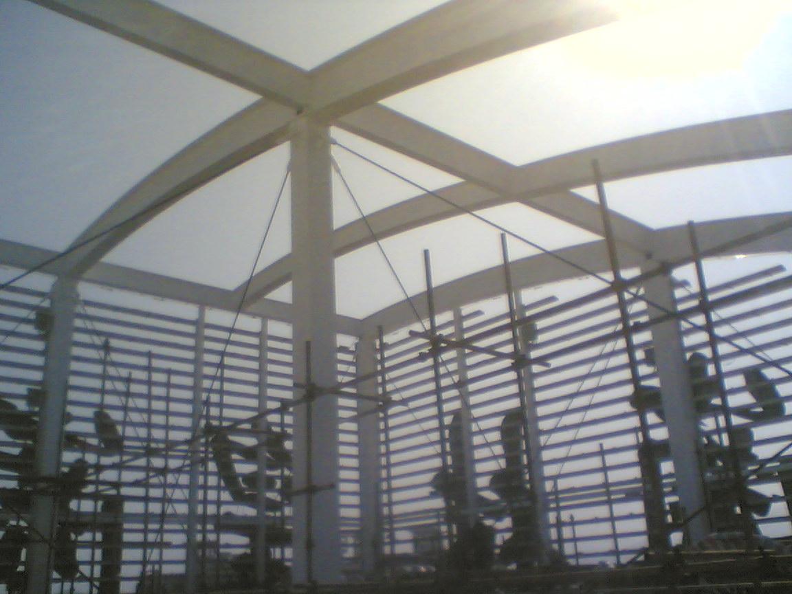 皇岗村钢结构油漆翻新工程