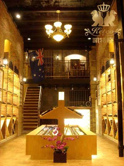 酒架木结构图片大全室内