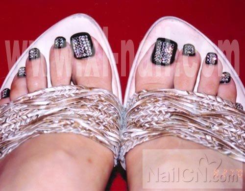 脚趾甲图片大全脚趾甲美甲图片脚趾甲美甲美女脚趾