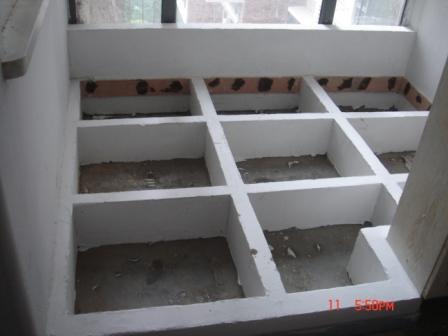 砖砌榻榻米施工步骤图