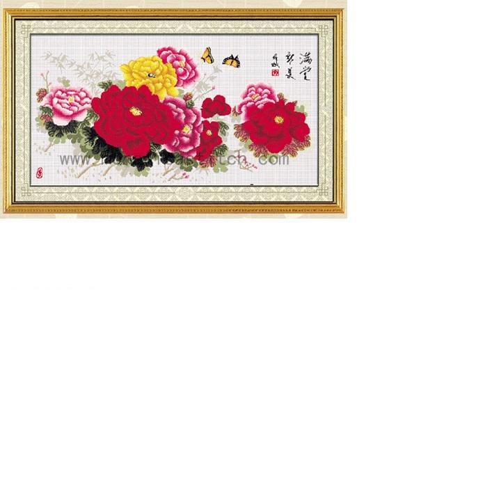 蒙娜丽莎-皇室十字绣 大画