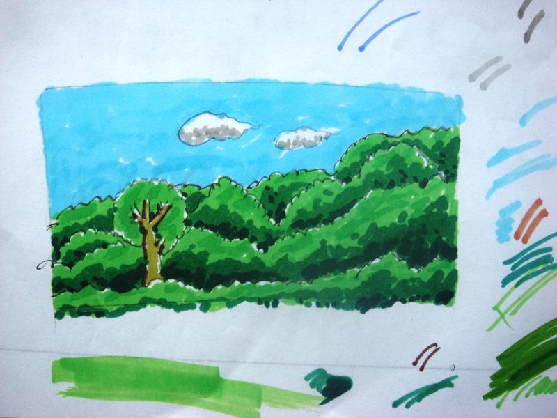 贴一些我儿子的铅笔画 涂鸦坊