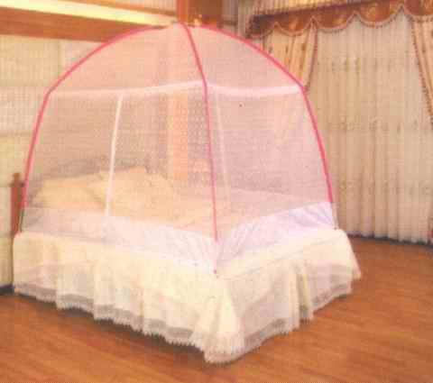 四方蚊帐安装图步骤