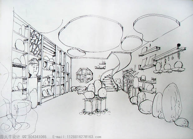 导火牛不同画法的手绘设计图,不断更新.(导火牛图片