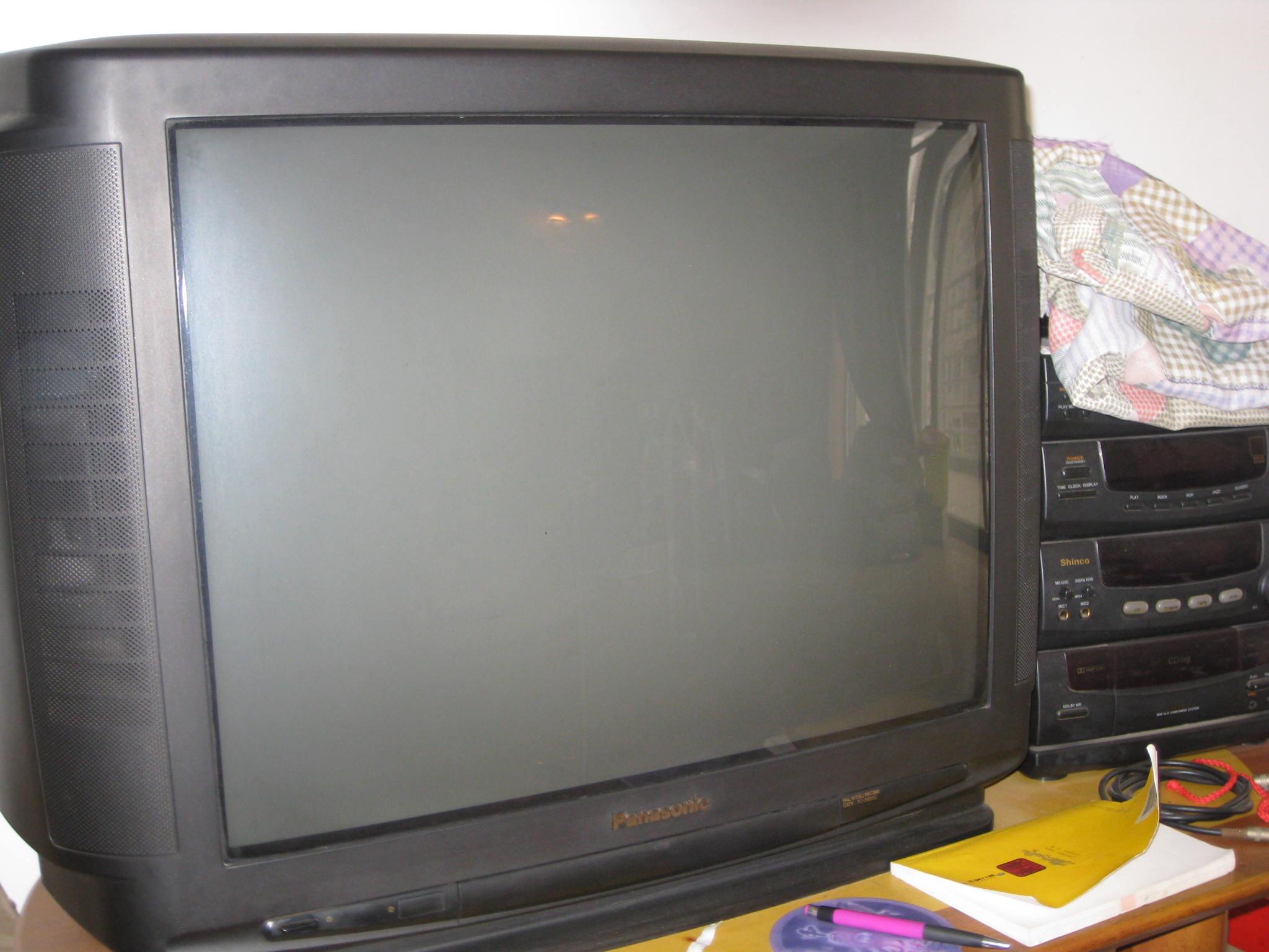 > 自用29寸原装松下电视机特价转让