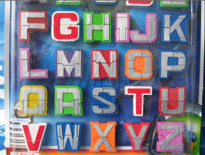 季年最火 特价26个字母变形金刚 10变形数字 5个运算符号 41个价格