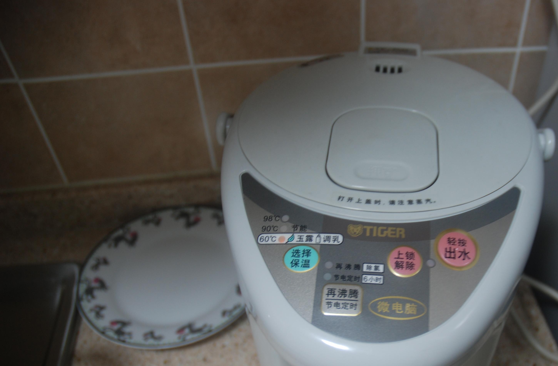 > [转让]转让日本虎牌微电脑电热水瓶,不锈钢机械面板泡茶热水壶