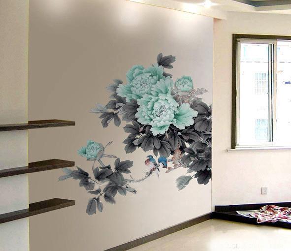 > 手绘墙画----营造自己的私家风景.^_^.