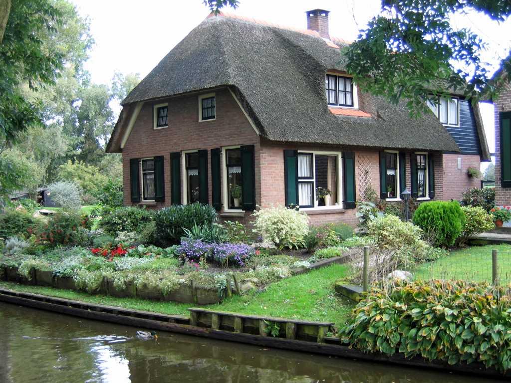 美丽荷兰农村---生态家园; 荷兰小镇;; 乡村别墅风光
