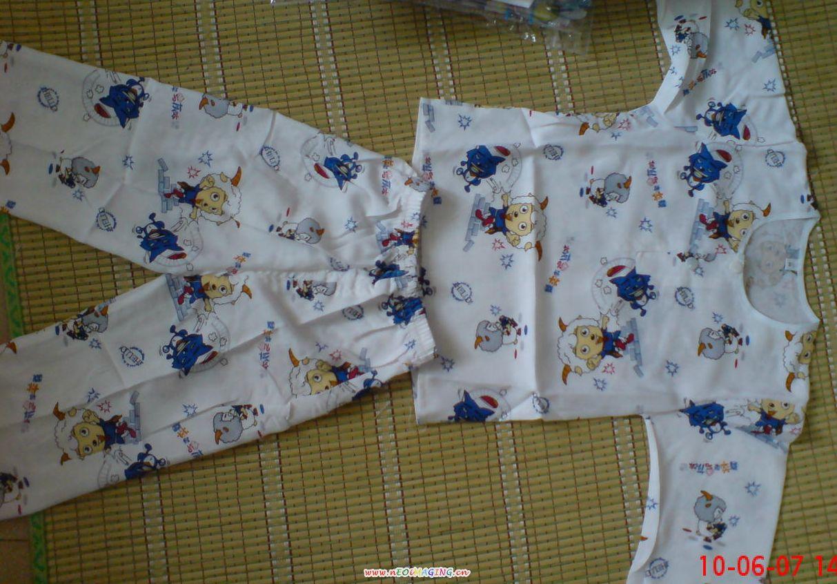 婴儿动物衣服套装