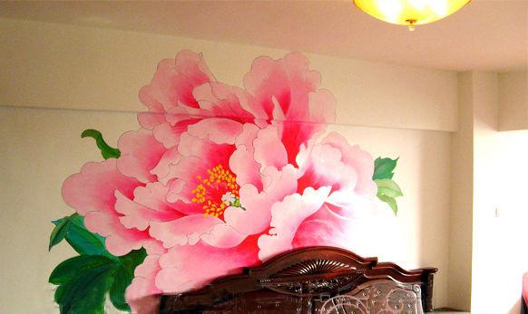 手绘墙画----营造自己的私家风景