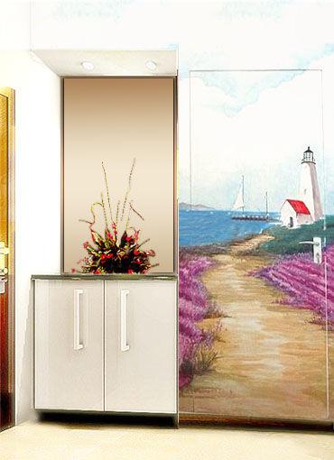墙绘--风景; 深圳手绘墙,壁画,墙体彩绘