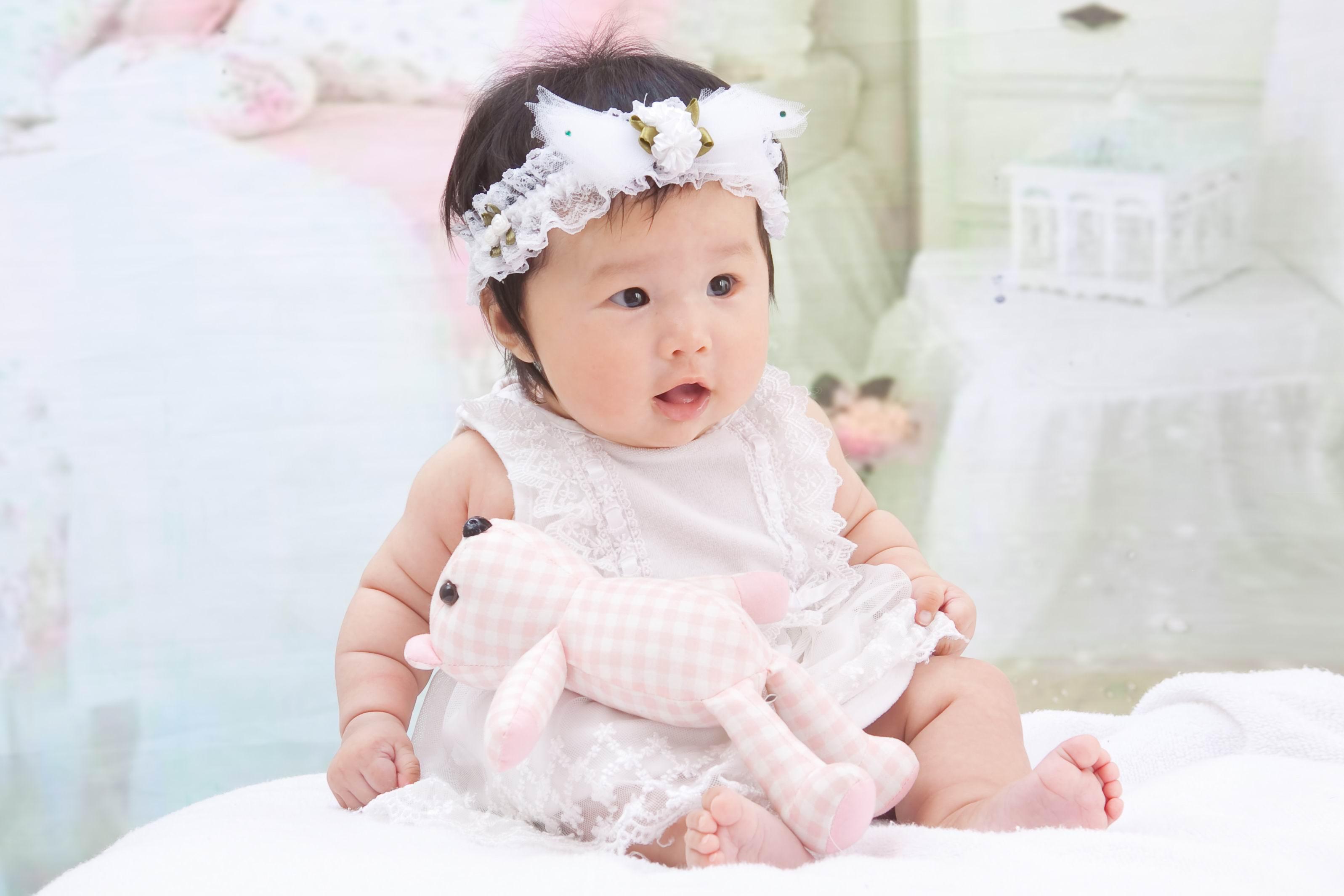 可爱漂亮明星宝宝