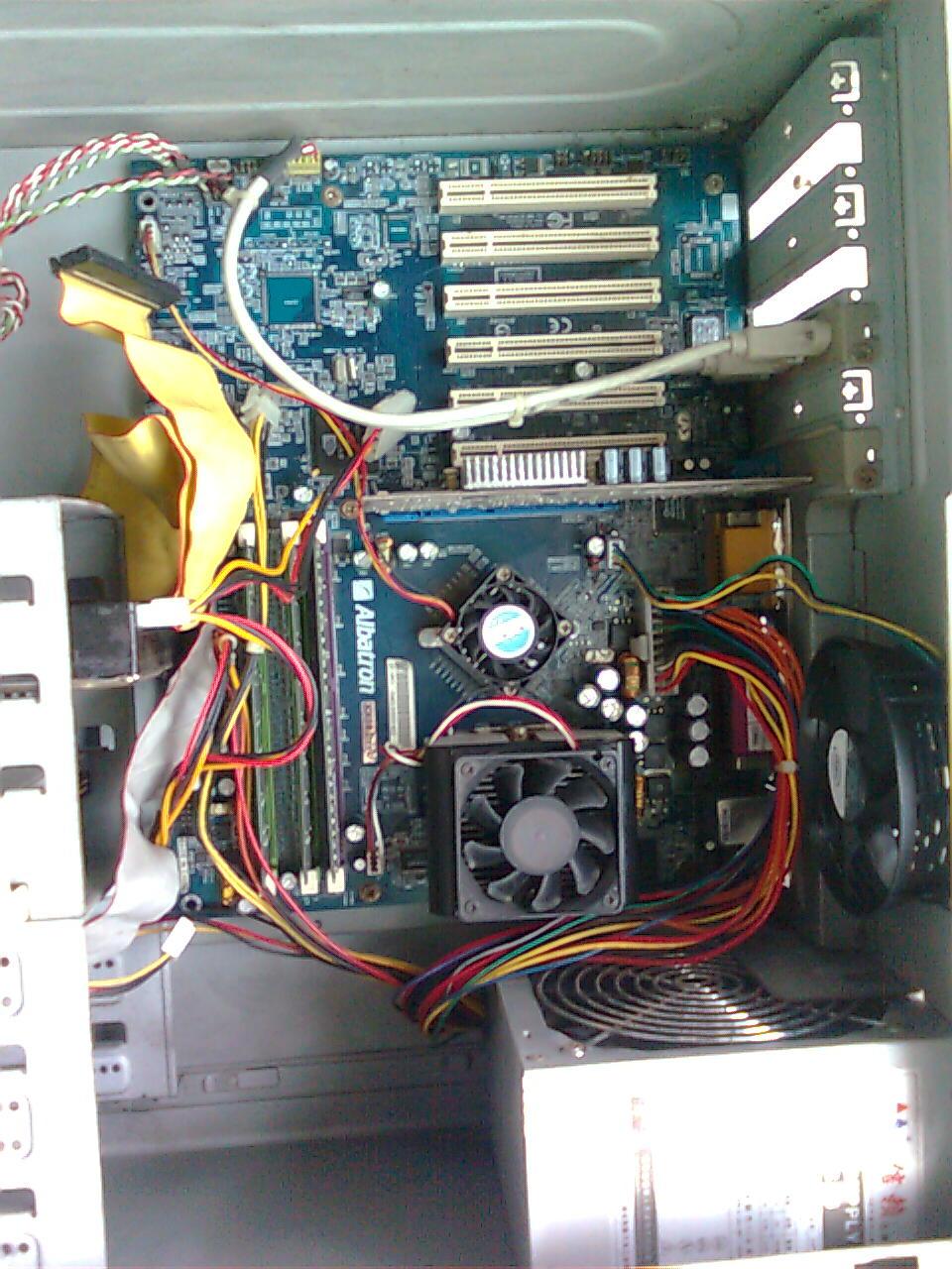 电脑光驱接线怎么拆