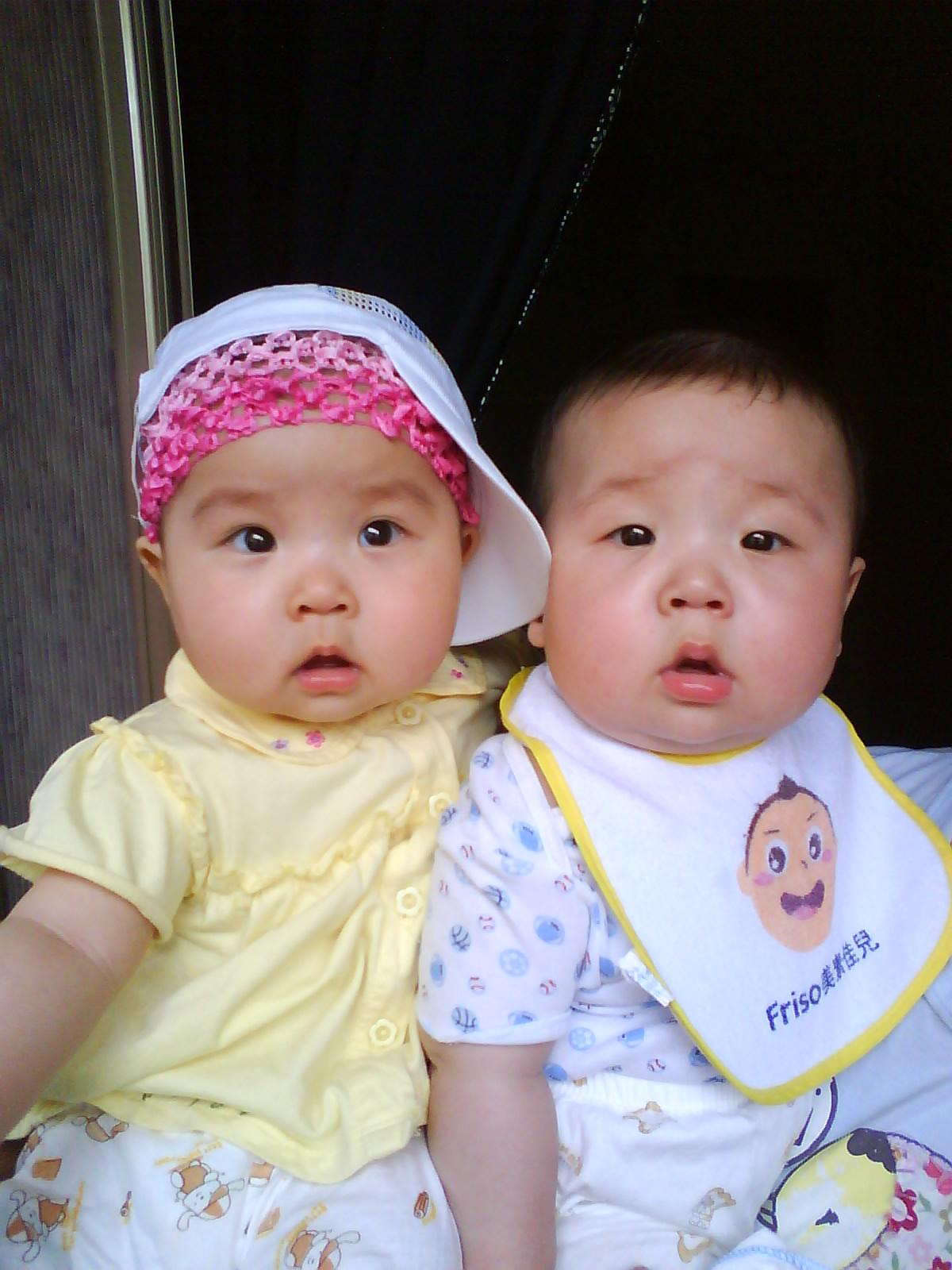 兄妹小孩头像 可爱