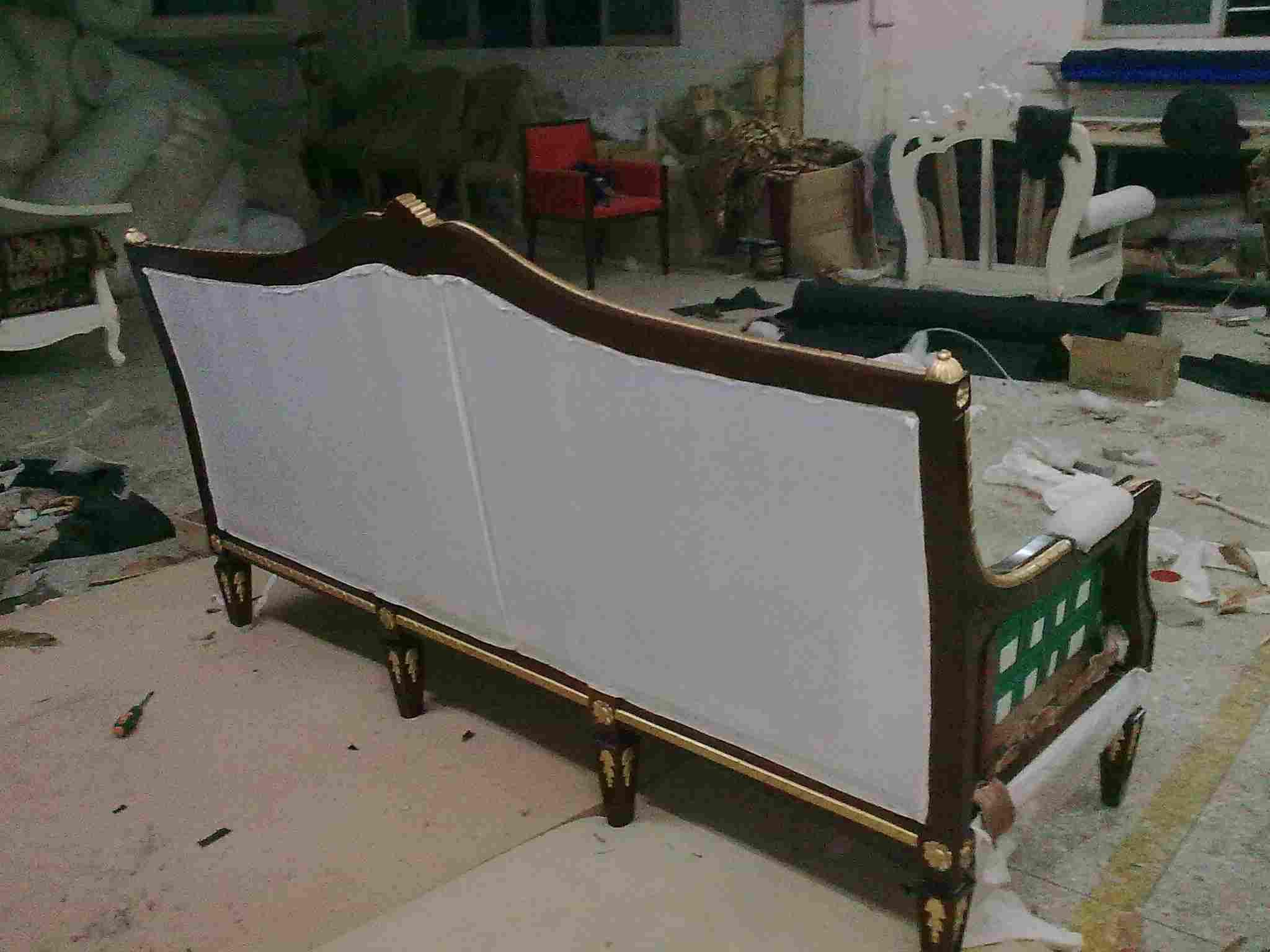 欧式床组装步骤图