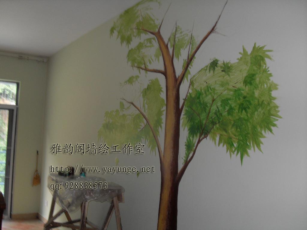 深圳手绘墙,墙体彩绘,手绘墙画,壁画浮雕,雅韵阁墙绘装饰设计—艺术