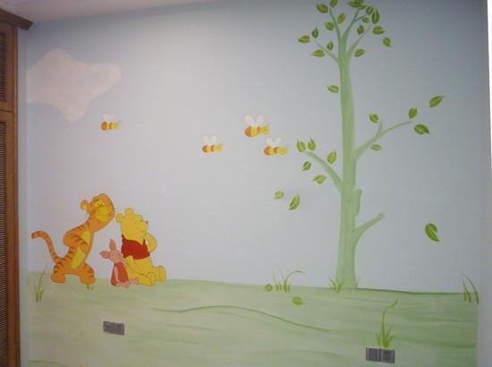 > 手绘墙画的艺术