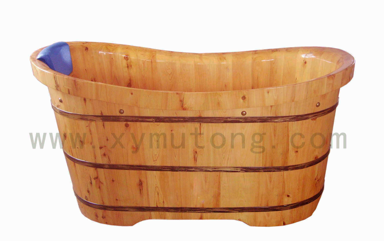 橡木浴室木桶